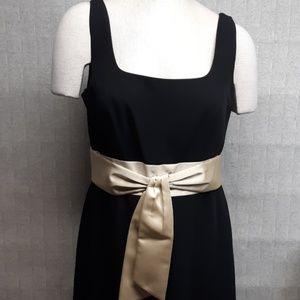 Ann Taylor Black Sleeveless Occasion Dress